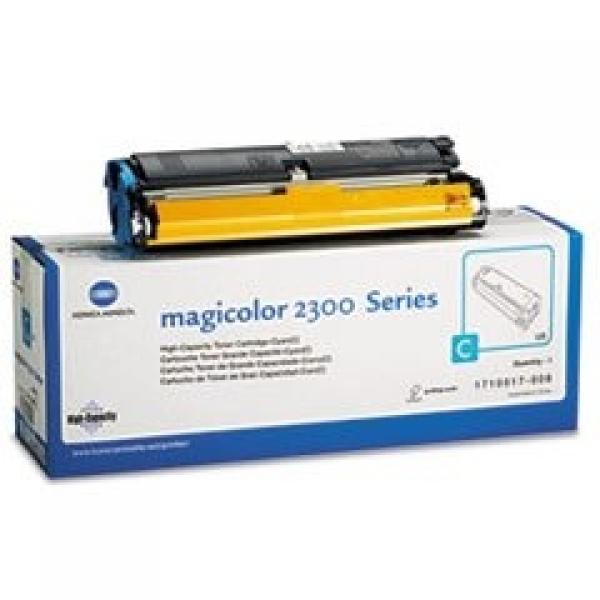 Konica-Minolta Cartridge MC2300 Cyan 4,5k (Alt:1710517008) (4576511),  (4576511)